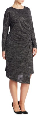 Nic+Zoe, Plus Size Stud Shift Dress