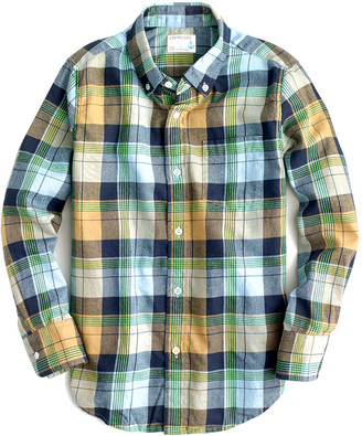 J.Crew Crewcuts By Flannel Shirt