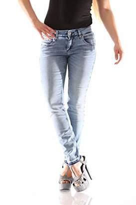 Herrlicher Women's Touch Cropped Jogg Denim Slim Jeans,18 (Size: )