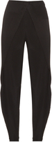 Issey Miyake Pleated-overlay trousers