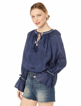 Ramy Brook Women's Christiana Peasant Blouse