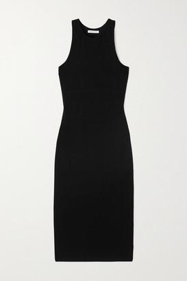 Ninety Percent Net Sustain Stretch-tencel Dress