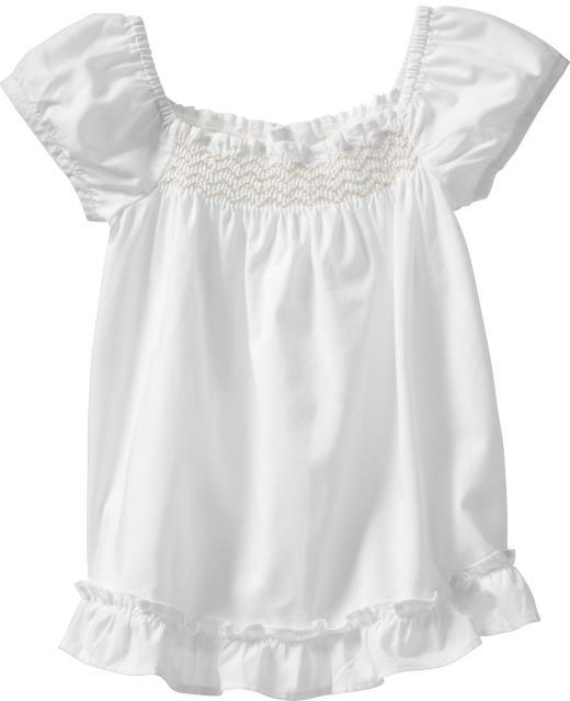 Gap The new smocked top