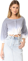 Milly Ombre Stripe Christie Top