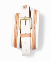 Ann Taylor Two Tone Leather Belt
