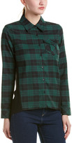 RD Style Flannel High-Low Shirt