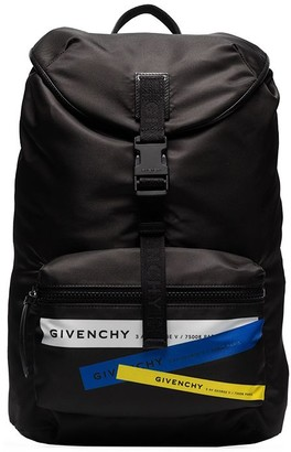 Givenchy x Browns 50 Address logo-print backpack