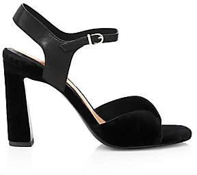 Joie Women's Okina Velvet Ankle-Strap Sandals