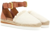 See by Chloe Canvas And Leather Espadrilles