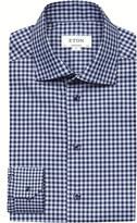 Eton Checked cotton shirt