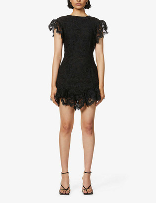 NEVER FULLY DRESSED Georgia lace mini dress