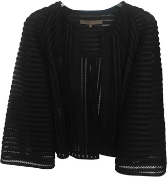 Space Style Concept Black Polyester Jackets