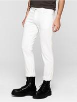 Calvin Klein Jeans Slim Straight Clean White Jeans