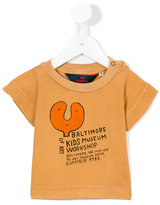 The Animals Observatory - baltimore print T-shirt - kids - Cotton - 6 mth