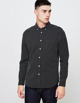 Edwin Standard Dobby Shirt Black/White