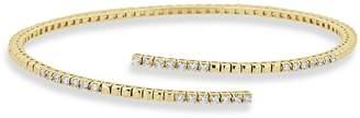 Saks Fifth Avenue Slinky Diamond and 14K Yellow Gold Bangle Bracelet