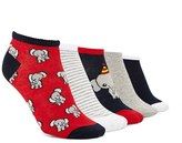 Forever 21 Elephant Print Socks - 5 Pack