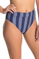 Splendid Long Lines High Waist Bikini Bottoms