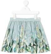 Il Gufo striped mini skirt