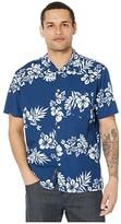 Quiksilver Waterman Floral Feelings Short Sleeve (Estate Blue Floral Feelings) Men's Clothing