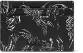 Lanvin Koi-Print Leather Cardholder