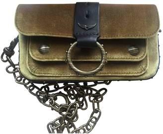 Zadig & Voltaire Green Velvet Handbags