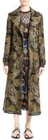 Yigal Azrouel Women's Embroidered Trench Coat