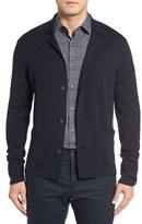 Robert Barakett Men's Fitzgerald Wool Button Cardigan