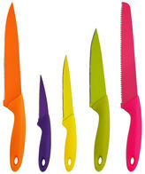Asstd National Brand PURELIFE by Ragalta 5-pc. Non-Stick Knife Set