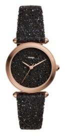 Fossil Limited Edition Lyric Three-Hand Black Fabric Watch 32mm