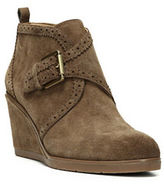 Franco Sarto Arielle Suede Wedge Booties
