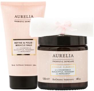 Aurelia Probiotic Skincare Aurelia Refine And Polish Miracle Balm 75Ml & Miracle Cleanser 120Ml Kit