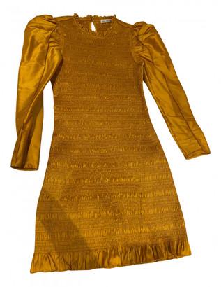 Ulla Johnson Yellow Lace Dresses
