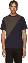 Paul Smith Navy & Khaki T-Shirt