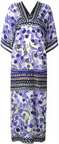 Holland Street - floral print tunic dress - women - Silk Crepe - One Size