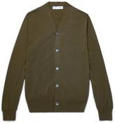 Comme Des Garçons Shirt - Reverse-seam Cotton Cardigan