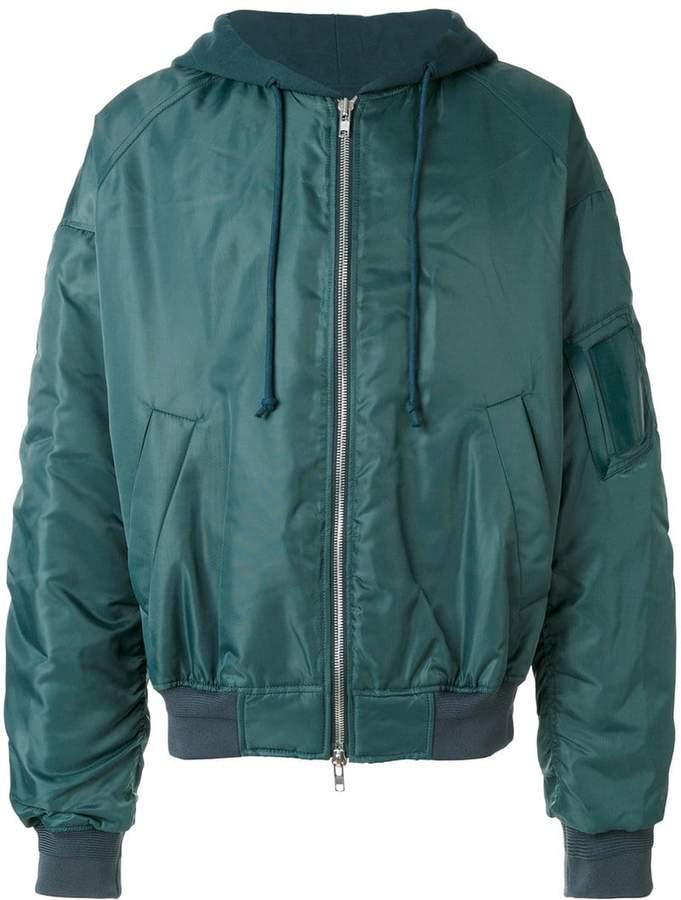 Juun.J classic bomber jacket
