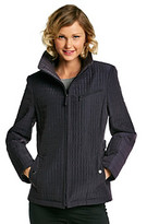 Gallery Two Tone Quilted Jacket