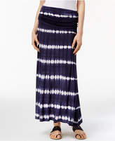 INC International Concepts Tie-Dyed Convertible Skirt, Created for Macy's