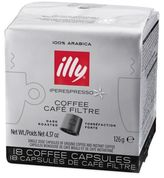 Illy Iper 18-Count Coffee Capsules Dark Roast for Y5 Duo Iper Espresso and Coffee Machine