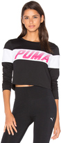 Puma Speed Font Long Sleeve Top