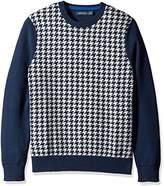Nautica Men's Houndstooth Sweater