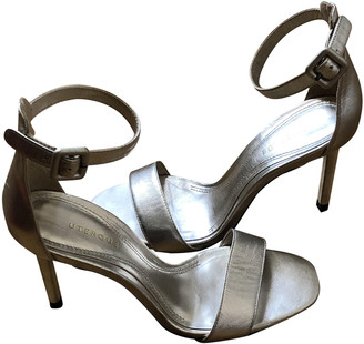 Uterque Silver Patent leather Sandals