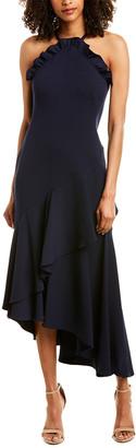 Shoshanna Leyma Asymmetric Gown