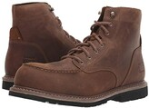 Timberland Millworks 6 Moc Toe Composite Safety Toe (Brown Gaucho) Men's Work Boots