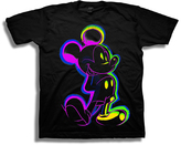 Freeze Mickey Mouse Neon & Black Lines Tee - Boys