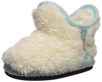 Dearfoams Girls' DF Pile Boot Slipper
