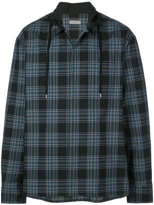 Lanvin Drawstring Collar Boxy Shirt