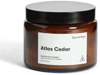 Earl Of East - Scented Soy Wax Candle Atlas Cedar 500 Ml