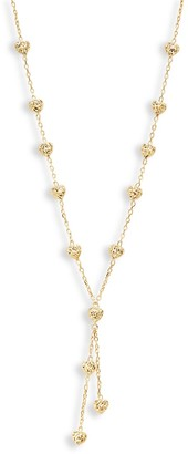 Saks Fifth Avenue Made In Italy 14K Yellow Gold Heart Station Necklace